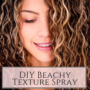 beach hair texturizing spray