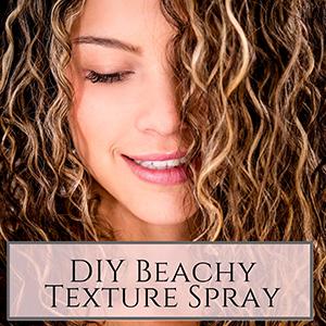 beach hair texturizing spray