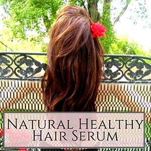 Make your own DIY hair serum