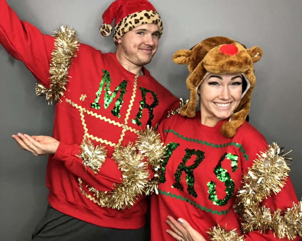 How to make a diy ugly Christmas Sweater and other Christmas Sewing Projects