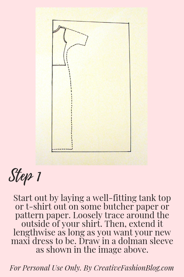 page 2 maxi dress diy