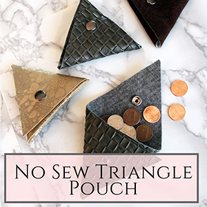triangle pouch