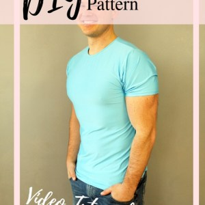 How to make a tshirt sewing pattern video tutorial
