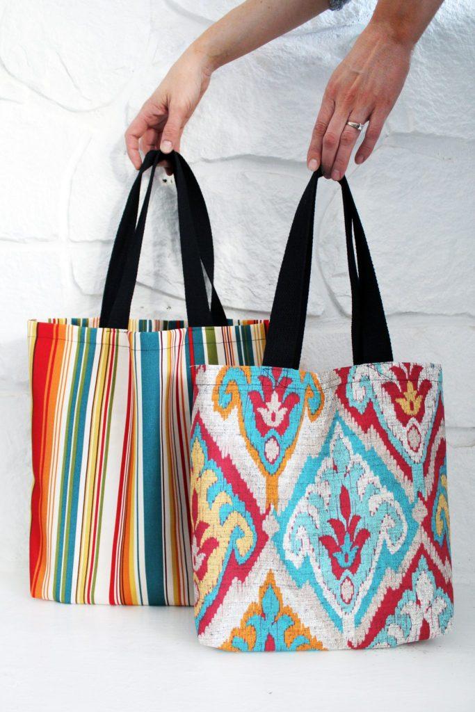 3 easy DIY tote bag patterns