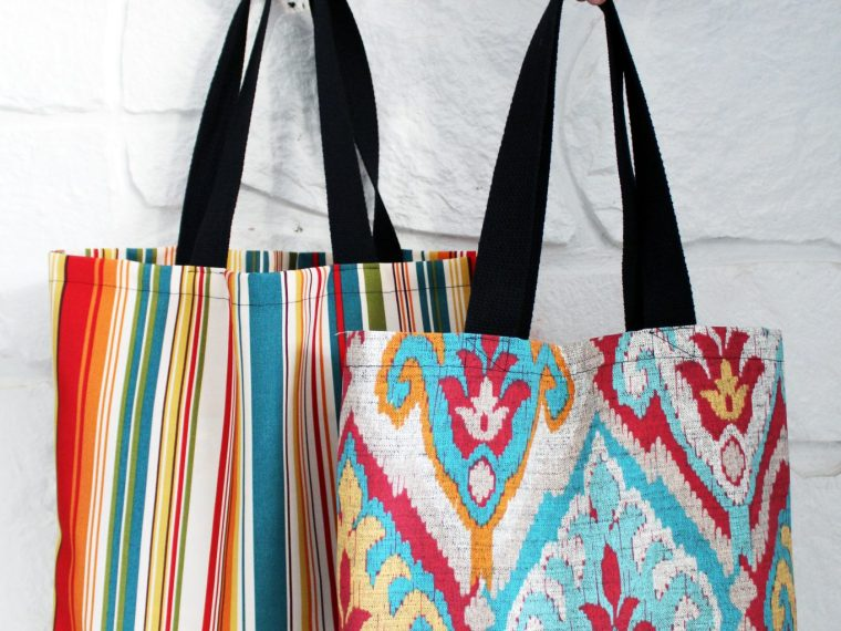 3 easy DIY tote bag patterns