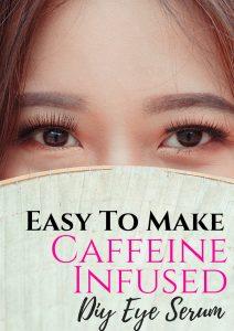 natural DIY Caffeine Infused Eye Serum