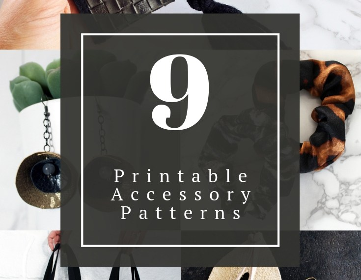 9 printable bag sewing patterns