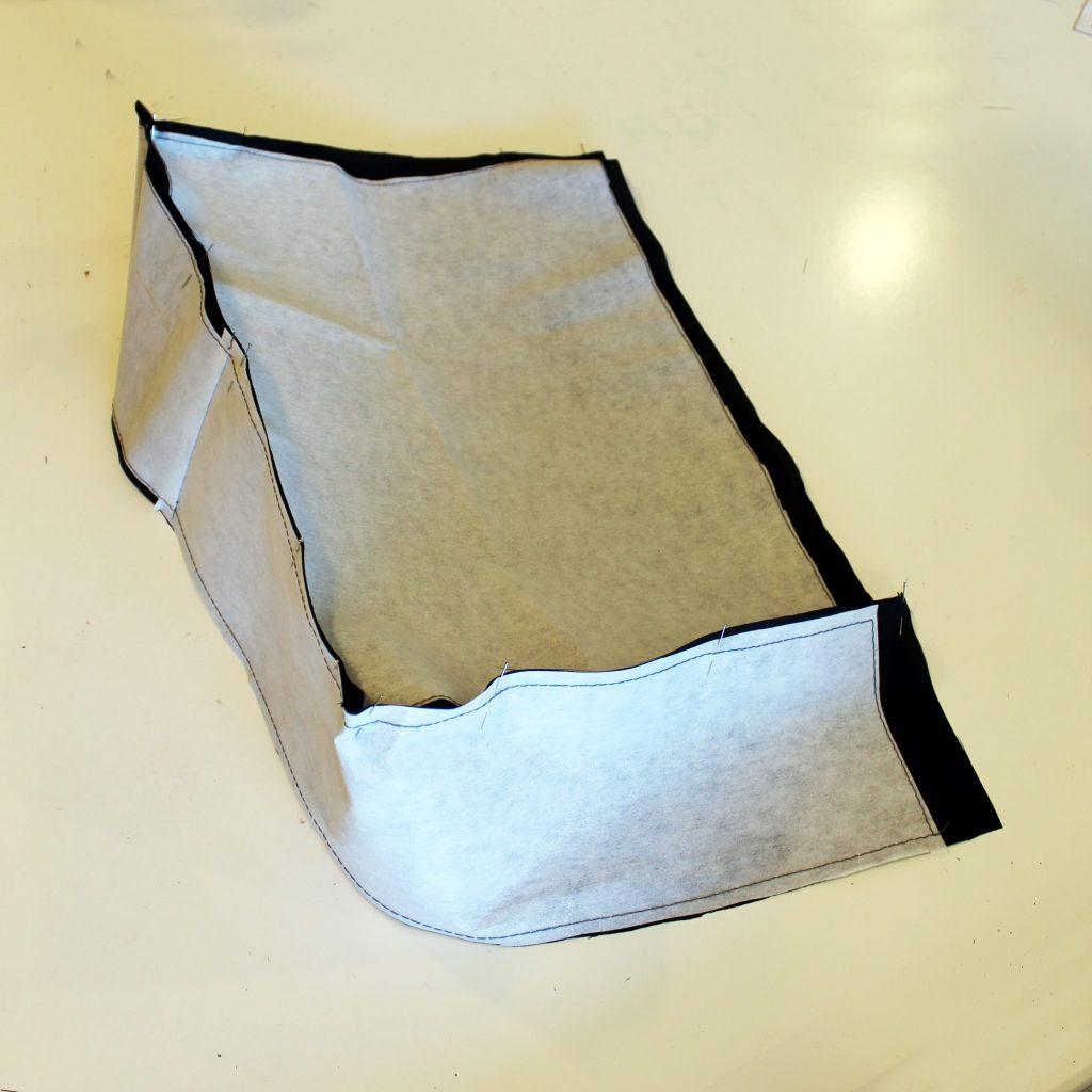 Canvas DIY Messenger Bag instructions 15