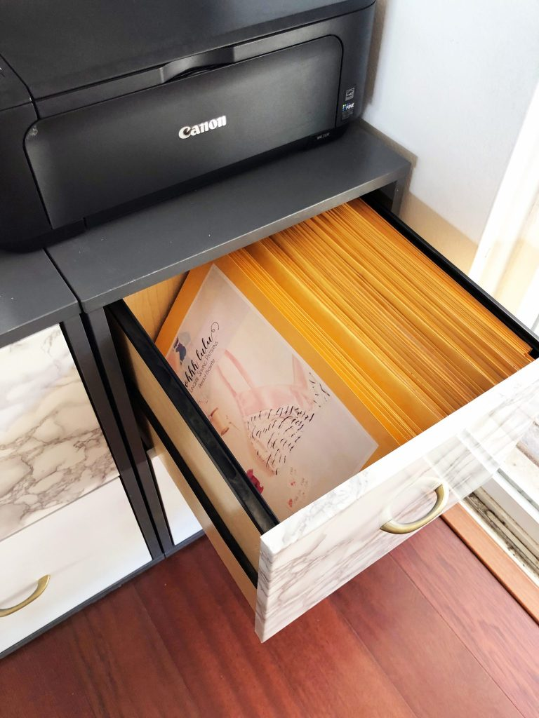 how to store pdf sewing patterns..