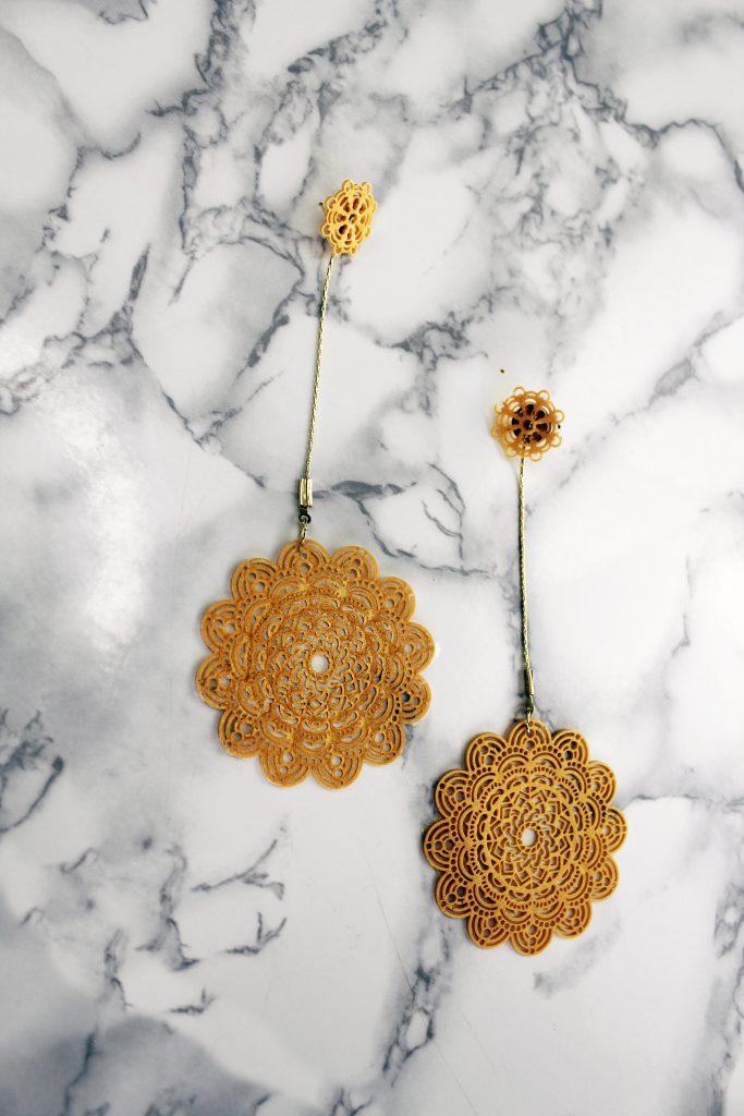 diy boho jewelry tutorials Liquid Sculpey Jewelry Tutorial earrings