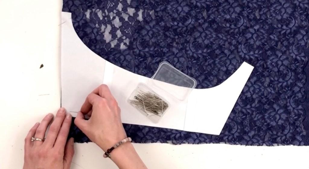 DIY seamless underwear with panties pattern