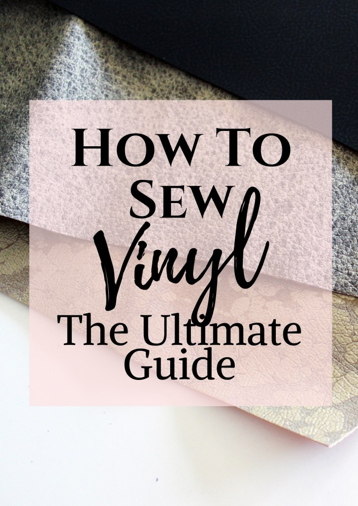 how to sew vinyl. vinyl sewing tips and tricks
