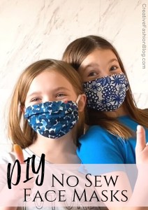 diy face mask sewing pattern