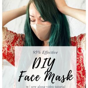 how to make a diy face mask