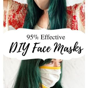 diy dust mask with printable template and pattern