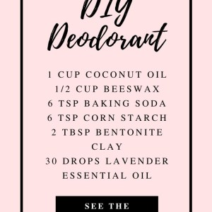 Hobeauty recipe with essential oilsmemade Deodorant Stick with essential oils