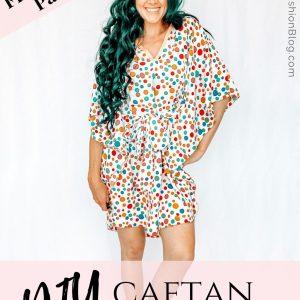 how to make a caftan dress