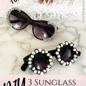 DIY designer sunglasses you can make from broken jewelry