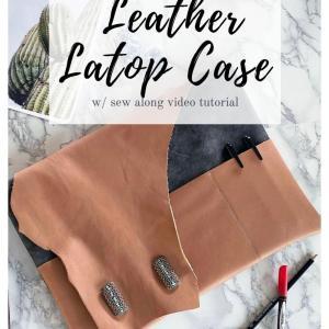 custom laptop sleeve tutorial