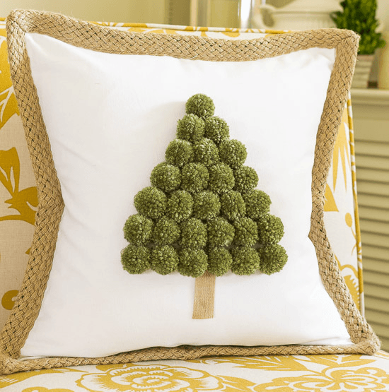 DIY Tree Pillow and other Christmas Sewing Projects