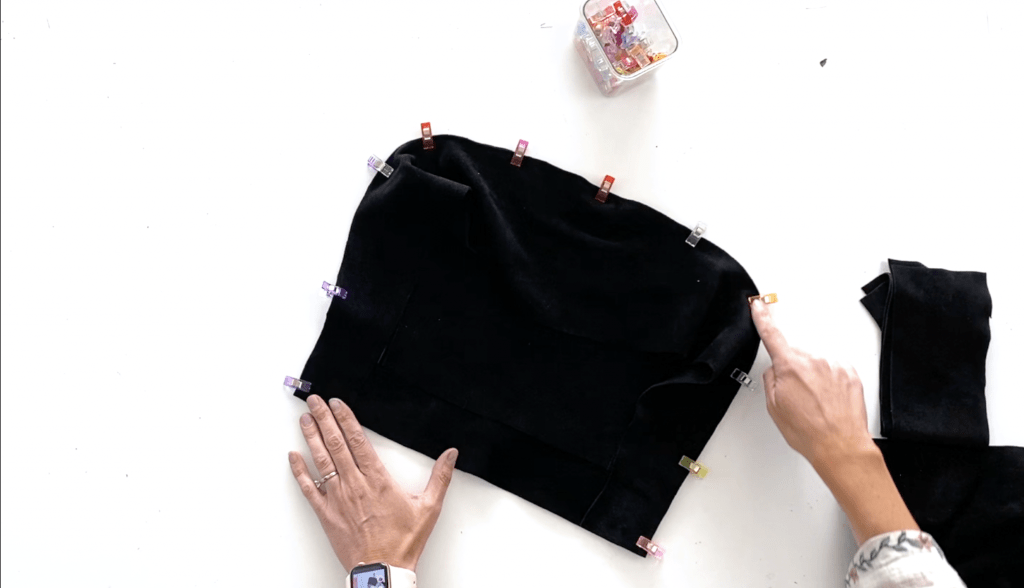 how to sew an easy leather tote bag pattern