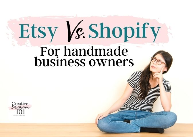 Shopify vs Etsy Which is better for handmade business?