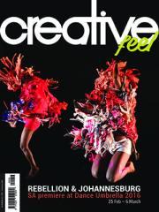 Creative Feel February 2016 Cover Featuring Dance Umbrella