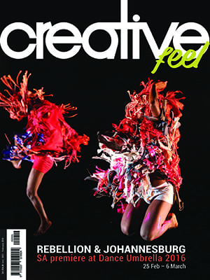 Creative Feel February 2016 Cover Featuring Dance Umbrella