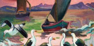 Birds and Boats: Maggie Laubser's Most Charming Painting