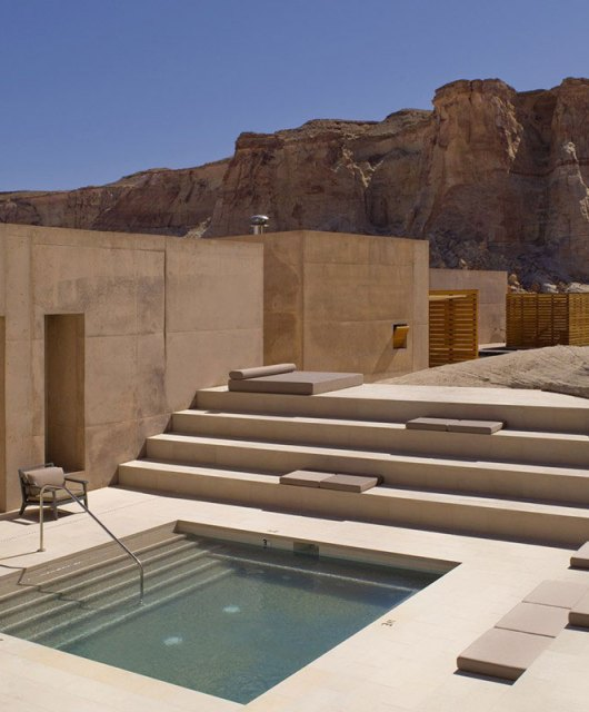 Amangiri in the desert of Utah