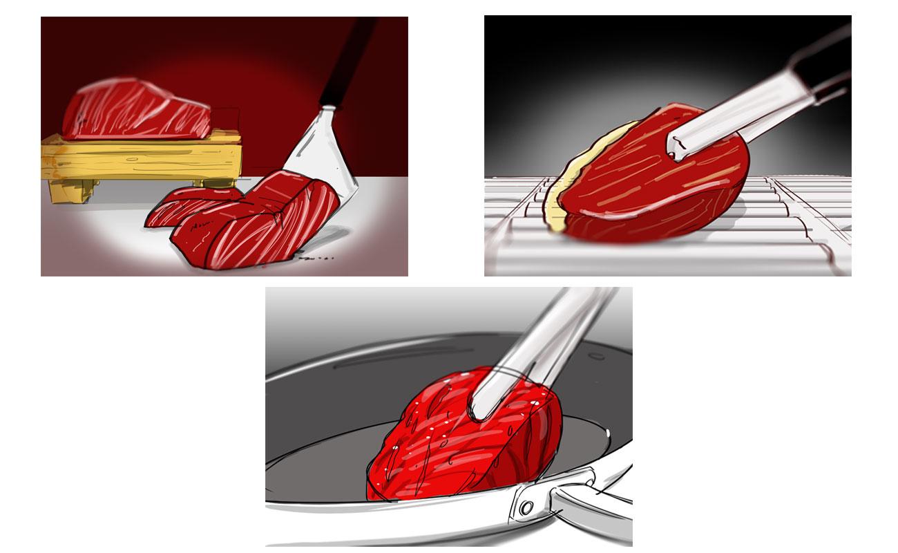 Lodewijksmeat Schetsen Vlees