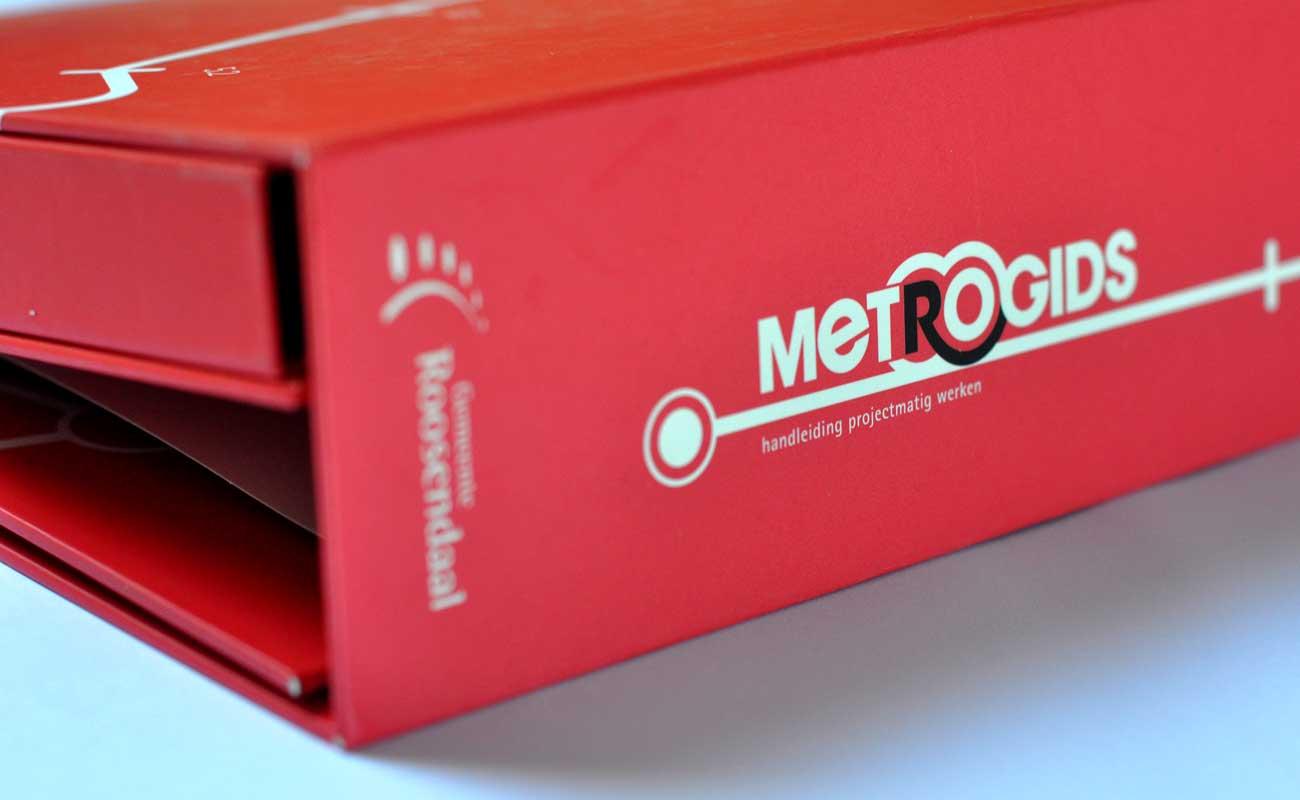 Metrogids Map Zijkant