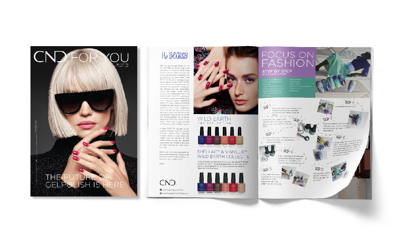 CND Beauty XL catalogus
