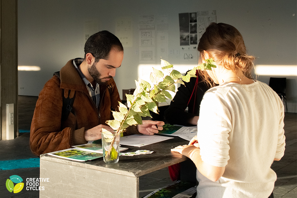 1. Registration Table (ph. Pierre Martin, for Creative Food Cycles)