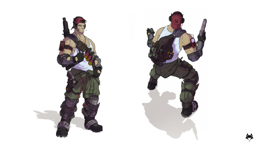 Soldier, Main Character concept