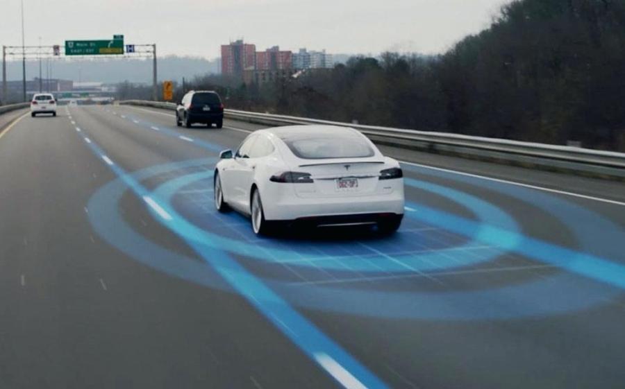 Representation of Tesla's Autopilot