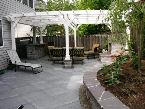 The Great Backyard Makeover - Creative Garden Spaces on Backyard Patio Makeover id=68078