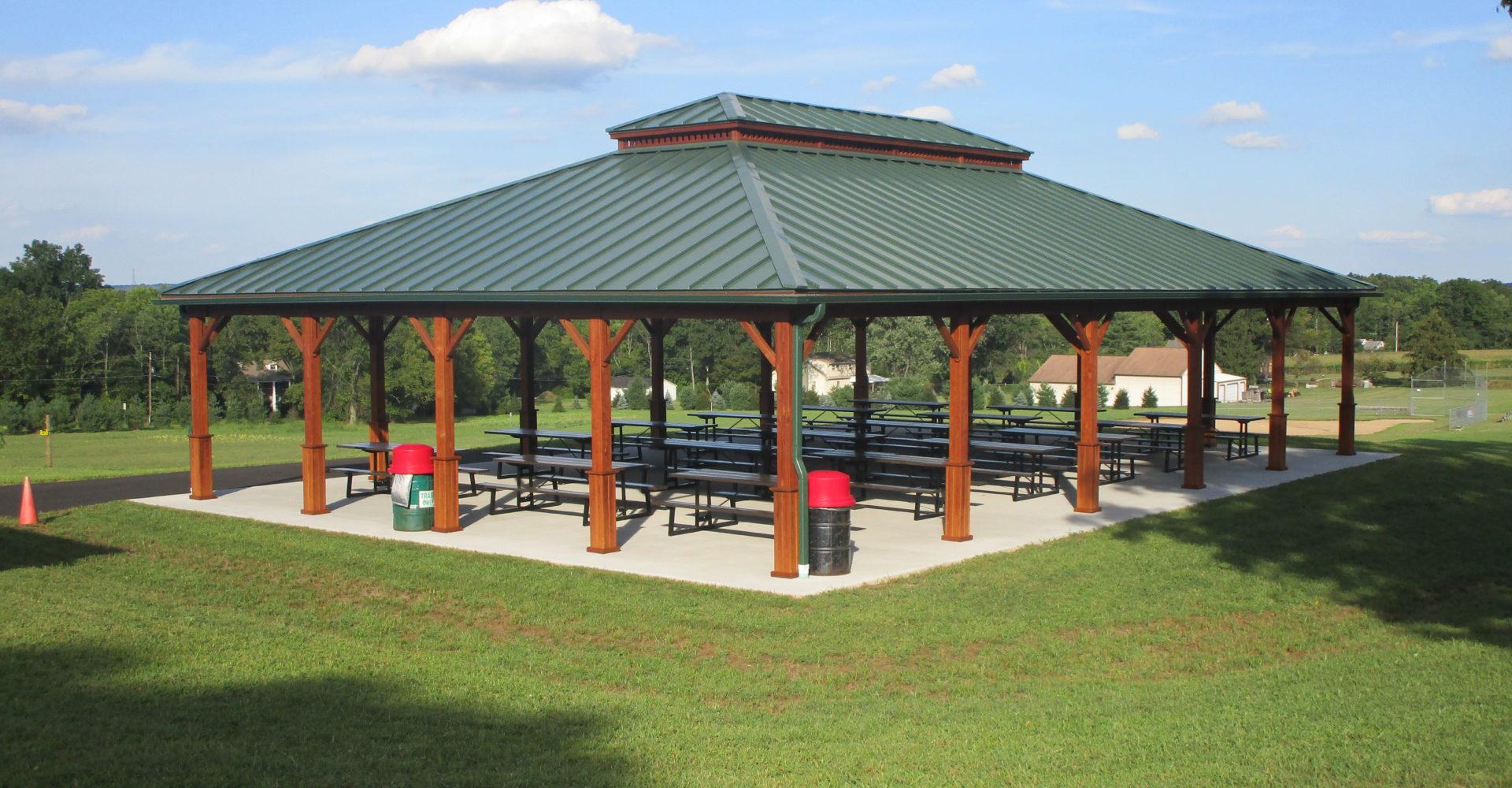 Large Wood Pavilions Creative Gazebos