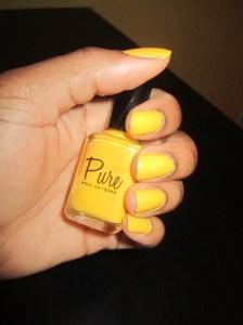 Sunny Disposition Manicure
