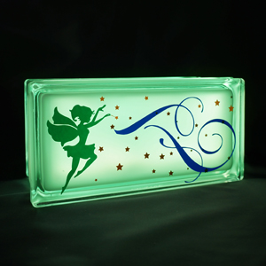 Childrens night light with fairies