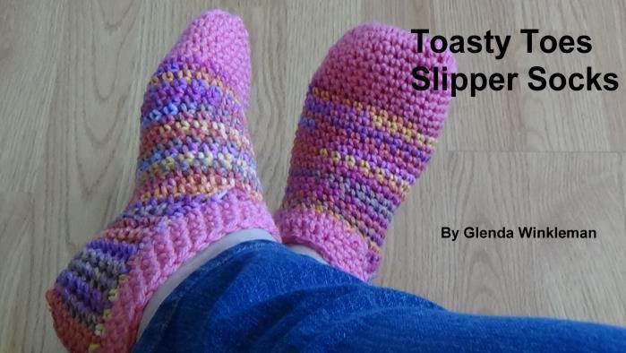 Toasty Toes Slipper Socks Instructions Creative Grandma