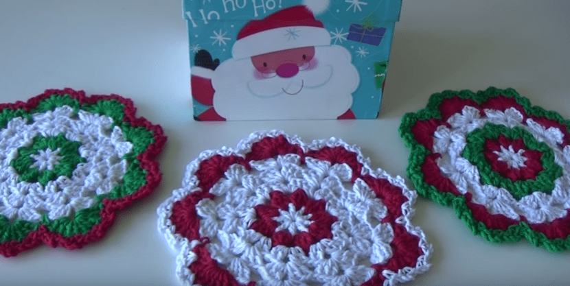 dishcloth xmas