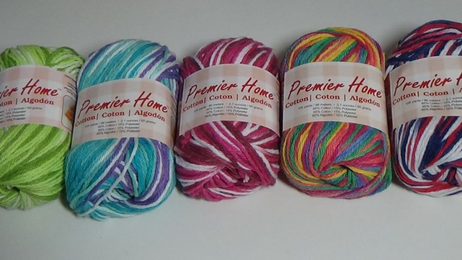 Premier Home Cotton Multi-colored 5 pack assortment #2