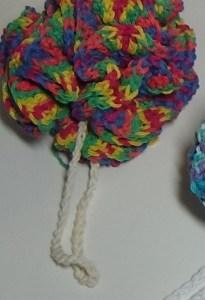 rainbow puff