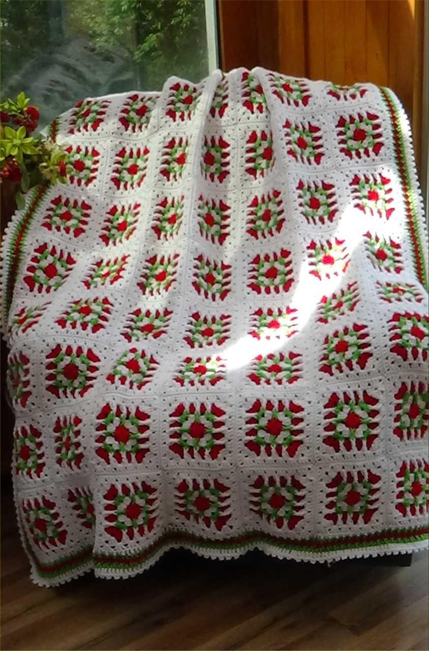 Christmas Twist Granny Afghan Kit Creative Grandma