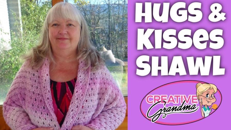 HUGS AND KISSES SHAWL thumbnail