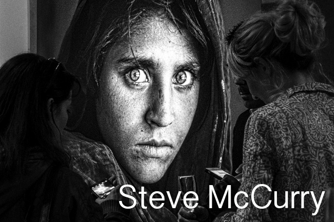 Steve McCurry-Iconic