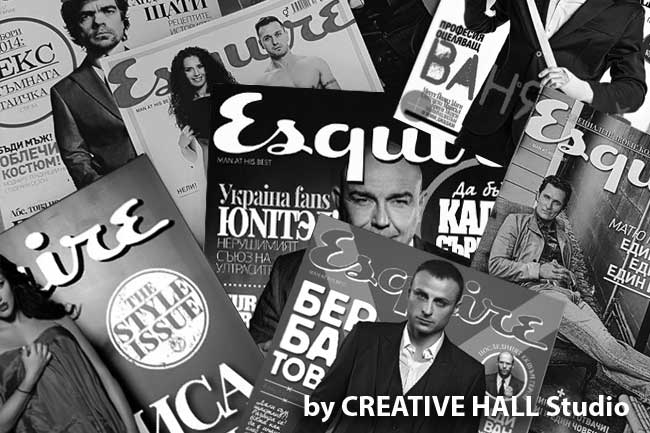 ESQUIRE Magazine by Ivailo STANEV/CREATIVEHALL Studio