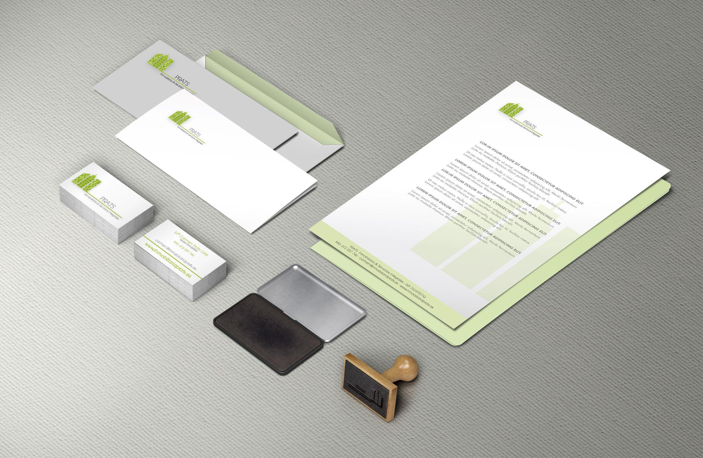Diseño e impresión papelería corporativa