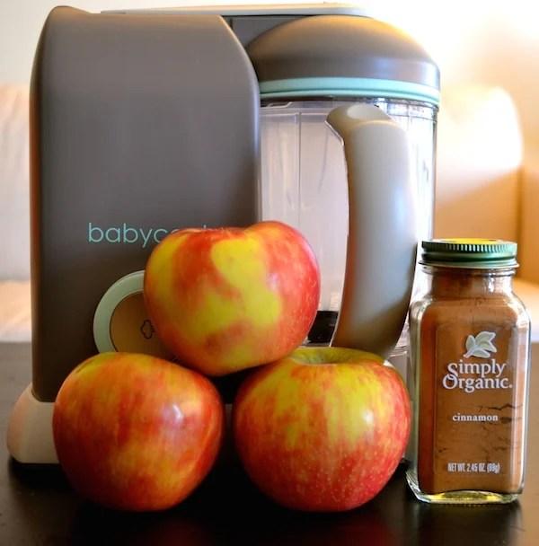 Homemade Applesauce With Cinnamon